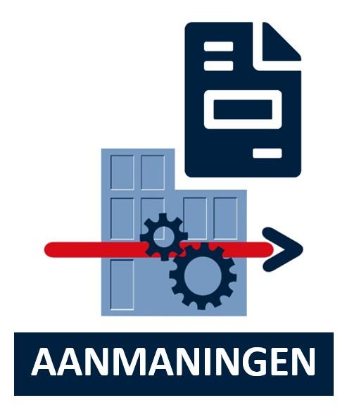 MSG ERP, Aanmaningen icon